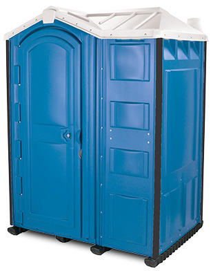 Our 1 and 1/2 size portable toilet